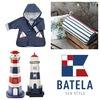マリントリコロール コスメポーチ, 灯台型ランプ, キッズ用アウトドア&レインコート   BATELA(バテラ)