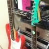 スマートに吊り下げ壁掛けギター ハンガー