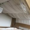 """イケアのレースカーテンLILLで2段ベッドを""""天蓋風""""に改造"""