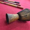ディジュリドゥ吹こう会の日でした〜。民族楽器集合!