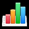 【Mac】Numbers で折れ線グラフの縦軸を降順にする方法