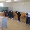 入学式予行練習