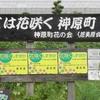 神原町花の会(花美原会)( 268 )    手作りの花いっぱい区域の看板