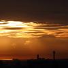 1004  朝焼けの雲