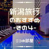【おすすめ】新潟旅プラン その4 最終章 咲花温泉編