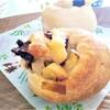 【パンレシピ3種】香りに癒される♡『プルーンと林檎のピーナッツパン』