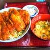 レストランヴォーノ@会津田島 ソースカツ丼