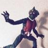 SHODO仮面ライダーVS 仮面ライダーアマゾンを見つけてつい買ってしまった。可動箇所が多くて色々遊べる!