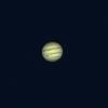超久々に星空 衛星と一緒 木星 5月20日夜