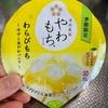 井村屋:やわもちアイス(わらびもち ゆずと爽やかバニラ・Fruits 白桃&バニラ