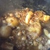 塩豚とひよこ豆のシチュー