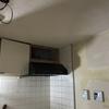 換気扇設置・クッションフロア貼った・キッチン設置したヨ