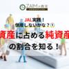 3-8 JAL実践!倒産しないかな?① 資産に占める『純資産』の額を知る!
