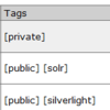del.icio.us IncSearchでprivate/publicをTagsに表示するuser-extension.js