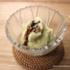 アイスクリームメーカーで自家製甘酒アイスを作りました。抹茶黒蜜と大吟醸アイス。