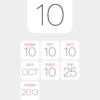【Webアプリ】 ホーム画面で現在の年や月がわかるアイコンカレンダー(iOS7対応)を公開しました