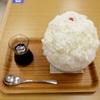 石原明子の美味散策フェアで、埜庵のかき氷@横浜
