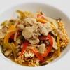 豚肉とピーマンの中華あんかけおこげのレシピ
