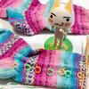 編みかけたママ、忘れ去られた靴下