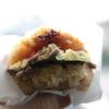 亥年だからジビエを食べたい7 のとしし団×はくい式自然栽培「ライスバーガー」