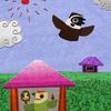 WEB絵本「雀と啄木鳥」