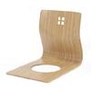 竹集成材の座椅子