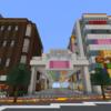 商店街を作る part2  [Minecraft #45]