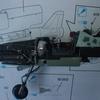 「バランスウェートの埋め込みと左右胴体の組み付け」 Do335B-6 アロー ドラゴン1/72