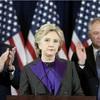 クリントン氏が会見、大統領選の敗北を認める