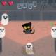 【2016】Googleトップがハロウィンミニゲームに!スワイプでカワイイ黒猫がお化け退治!