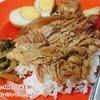 美容にもいい!?バンコクの緑の丼マーク付きおすすめカオカームー【Chula Pork Leg】