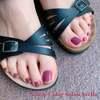 今年の夏を共に過ごすカラー選びを楽しむ♡クラシックピンクな大人エレガントペディ☆フットジェル