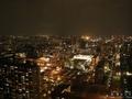 千葉ポートタワーから見た京葉工業地域と千葉の夜景