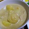 【今日の食卓】ゲァン・ガリー(イェローカレー)。南部ムスリムの料理。ほとんど辛くないが、メーブロイのペーストはピリッとスパイシー。もちろん豚は使わず鶏肉だが骨付きの方が美味しいのは常識。 Yellow curry with Mea Ploy paste. #タイ料理 #タイカレー #カレー #ThaiFood #curry