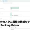 Backlog のカスタム属性の更新をサポート:CData Backlog Driver