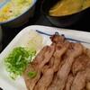 松屋 アンガス牛焼肉定食 とプレミアム牛めし  2肉食い (^o^)