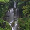 滝の写真 No.4 兵庫県 お面が滝