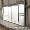 サッシ障子取り外し網戸付ガラリ取付工事をしました。(愛知県小牧市)