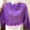 編み物  新しい素材にはまる