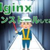 Nginxをインストールしてみた。