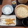 昼食に丸亀製麺へ