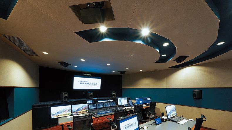 角川大映スタジオ(調布)〜Pro Tools|MTRXでダウン・ミックスまで見据えたシステムを構築