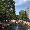 大横川親水公園(墨田区)6月でも水遊び!子供の遊び場・公園情報