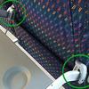 前の座席の人から、強制的にリクライニングの自由を奪う『ニーディフェンダー』が原因で、飛行機が緊急着陸するトラブルに!
