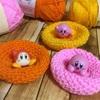ピンクで丸いものは全部カービィに見える症候群(カービィとは関係ない編み物の話です)
