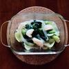 簡単*ホタテとチンゲン菜(小松菜)の青菜炒めレシピ*