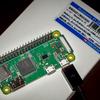 Raspberry Pi Zero WHを買った