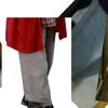 手持ちの服を簡単にリフォーム~ストレートワイドパンツからバルーンパンツへ