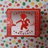 ワクワクする小箱に入った赤い靴のチョコレート 横浜チョコレート「赤い靴」