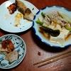 幸運な病のレシピ( 2256 )夜 :しゃぶしゃぶ鍋、鳥の炙り焼き、マユのご飯